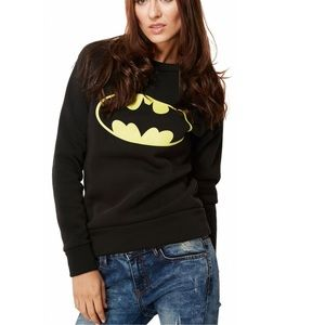 Batman Pullover Black Sweater